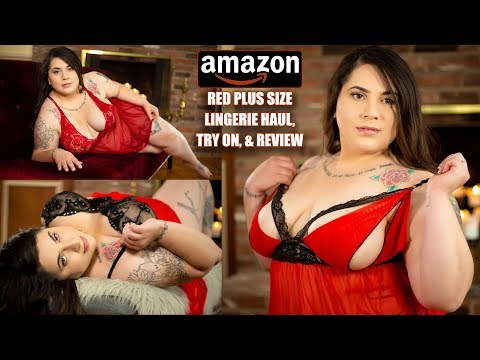 amazon-red-plus-sized-lingerie-haul-try-on-and-review