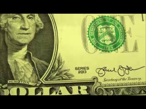 $1 Bill Series 2013  Found my first 2013 one dollar bill today