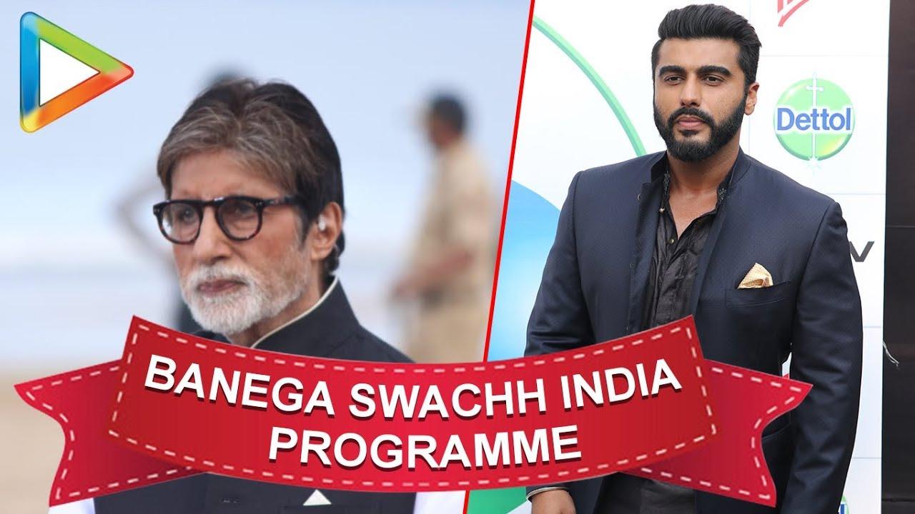 Amitabh Bachchan, Arjun Kapoor, Parineeti Chopra & others @'Banega Swachh India'