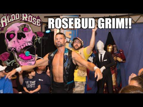 GRIM AND ADAM ROSE STALKED BY SLENDERMAN ROSEBUD AT INDY SHOW!
