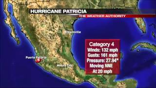 Patricia slams Mexico Pacific Coast as category  hurricane