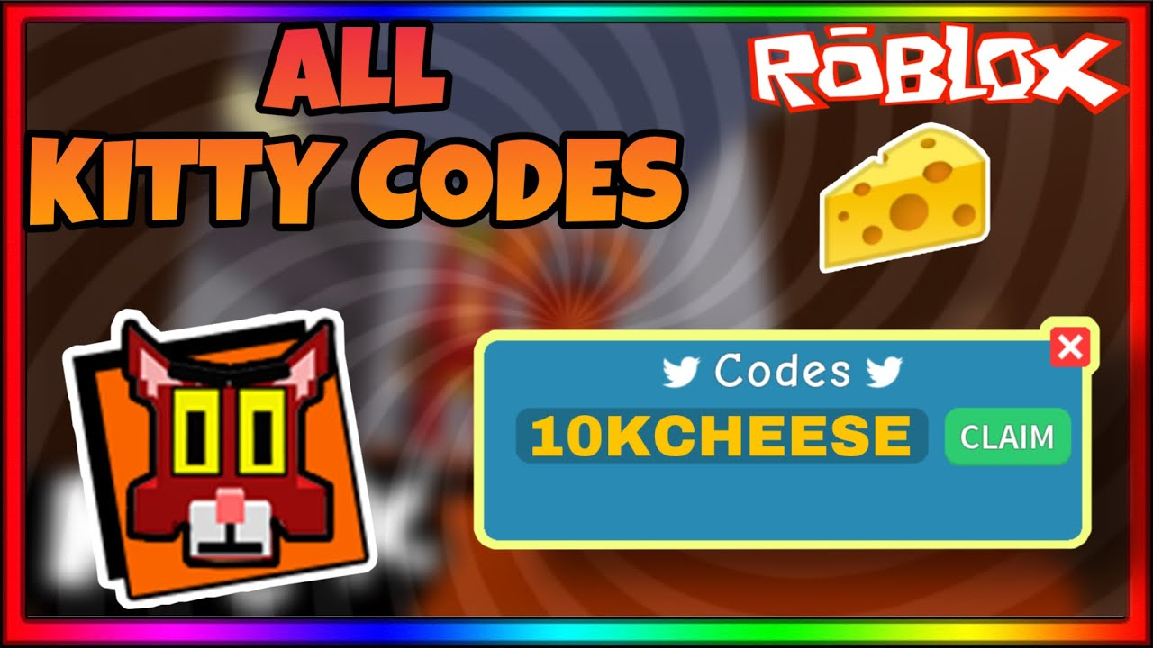 ALL NEW KITTY ROBLOX CODES | Roblox Kitty Codes (JUNE ...