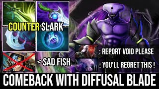 They Thought He's a Useless Carry But Void With Diffusal Blade Prove Them Wrong Epic Comeback Dota 2