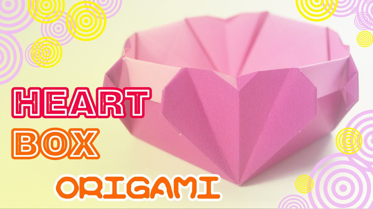 Valentines day how to make origami heart box easy origami valentines day how to make origami heart box easy origami youtube jeuxipadfo Gallery