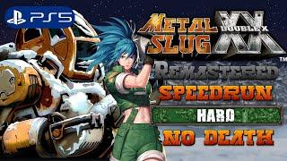 Metal Slug XX Remastered (PS5) - Full Speedrun Hard No Death (4K)