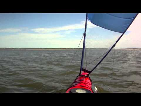 Pacific Action Sail with a Tsunami 175 Absolutely First Time
