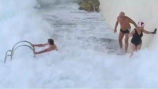 In kroatien sind zwei männer beim neujahrsschwimmen ums leben gekommen. auch liverpool und im osten australiens wurden die feiern zum jahreswechsel getrüb...