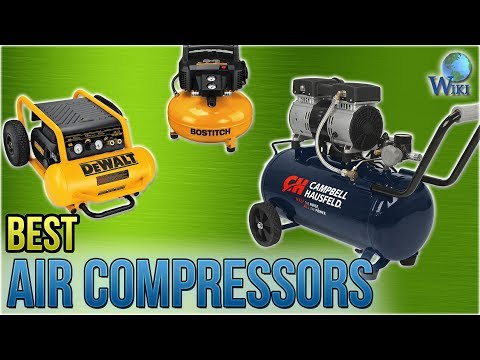 10 Best Air Compressors 2018