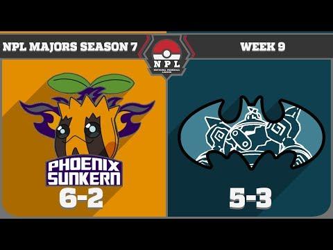 National Pokeball League S7W9: Phoenix Sunkern vs Gotham City Golurks (5-3)