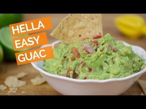 Hella Easy Guacamole in 2 Minutes