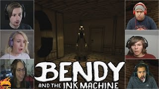 Gamers Reactions to Boris Alive (Part 2) Ending | Bendy and The Ink Machine - Chapter 2