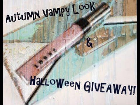 Autumn Vampy Look │Halloween GIVEAWAY!!!