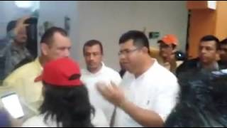 Alcalde de Pichucalco se muestra Déspota