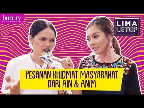 LimaLetop! | Pesanan Khidmat Masyarakat Dari Ain Edruce & Anim Ezati