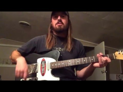 How To Play The Slide Intro To The Song Boot Scootin' Boogie by Brooks and Dunn