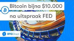 Bitcoin nieuws vandaag: Bijna 10.000 dollar na uitspraak FED   Zuid-Korea werkt aan eigen crypto