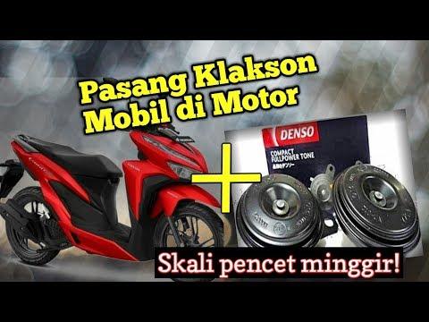 Pasang Klakson Mobil Di Motor : Denso Disc