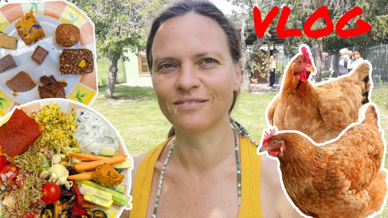 VLOG #10: Selbstversorger, Hühnerparadies, Rohkostpotluck und ein Fall für den Dektetiv