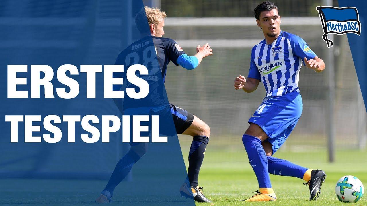 Testspiele Hertha Bsc