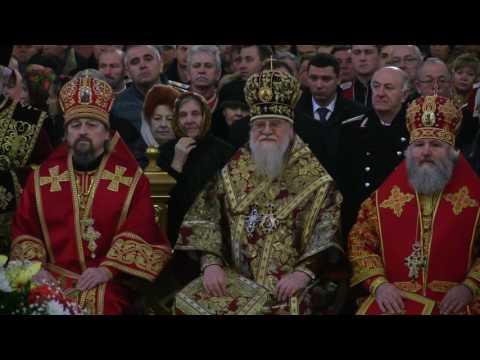 День св.вмч. Екатерины. Престольный праздник Собора (7.12.16 г.)