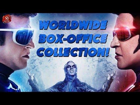 WORLD WIDE Box Office Collection I 2.0 I Rajinikanth I Shankar I Akshay Kumar