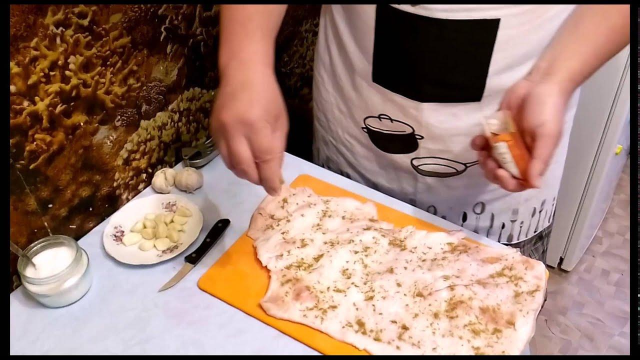 рулет из свиной шкуры рецепт