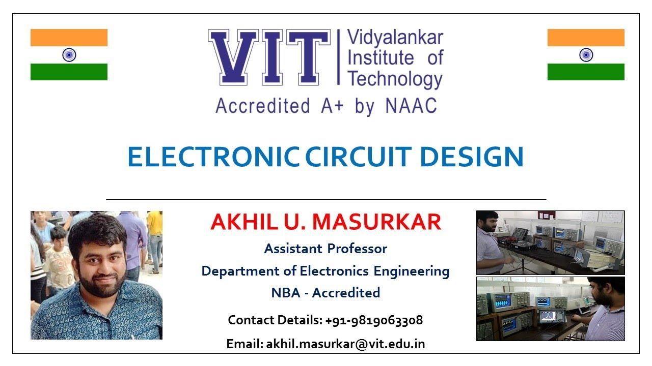 Akhil U Masurkar Zener Diode Circuit Diagram Explanation Youtube Of