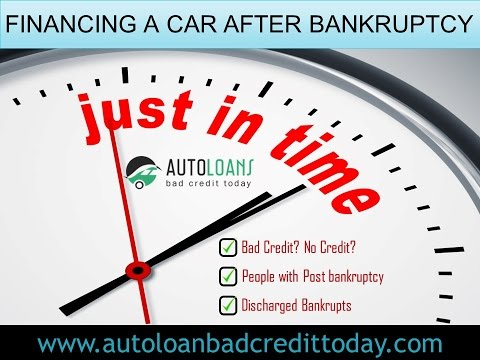 After Bankruptcy Auto Financing