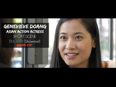 Vidéo Geneviève Doang - English Scene reel