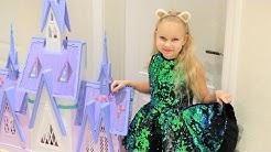 Куклы и волшебный мерцающий замок «ХОЛОДНОЕ СЕРДЦЕ 2» Frozen 2 от Hasbro