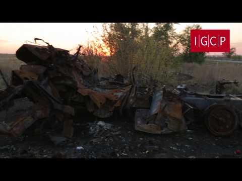 IGCP. Военное преступление в Хрящеватом (1 октября 2014 г.) 18+