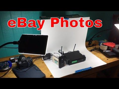 eBay Photos and Lighting