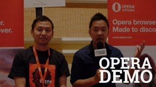 Opera Full Browser Demo at CTIA 2013