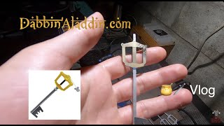 Kingdom Hearts Keyblade Sword Dabber - How It's Made