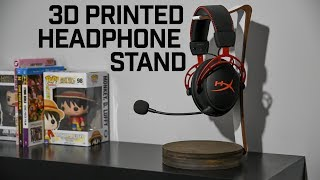 HOW TO // 3D Printed Modern Headphone Stand