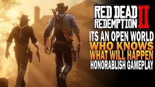 It's An Open World, Who Knows What Will Happen - Red Dead Redemption 2 [Xbox One X]