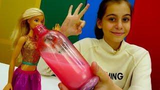 Игры для девочек. Готовим для #Барби зелье смелости! Видео для девочек с #ЛучшаяподружкаВика