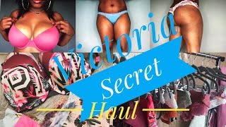 Victoria's Secret Try on Haul 2017 | Plus Size edition | Mists and Free Stuff