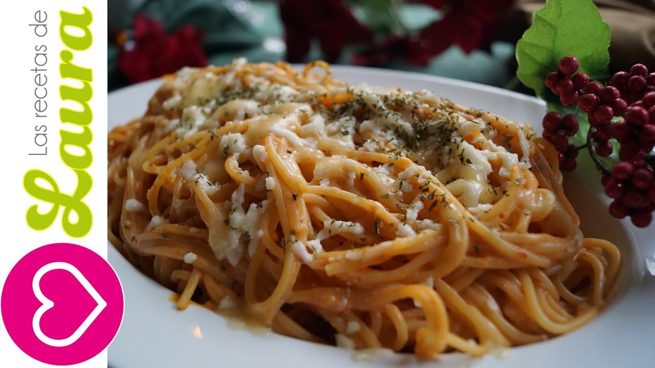 como hacer espagueti con chipotle y crema recetas para cena de navidad youtube