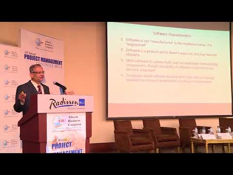 Dr. Santanu Roy at 10th Annual Project Management Congress