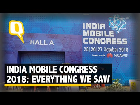 India Mobile Congress 2018: 5G, Reliance Jio Smart Home and Indian Startups on Display