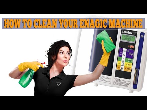 How To Clean The Enagic SD501 Kangen Water Machine