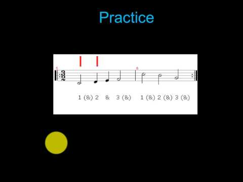 Rhythm Practice: 32 Time Signature