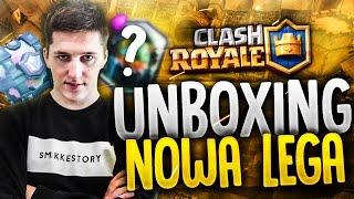 """Clash Royale #8 """"UNBOXING + NOWA LEGA"""""""