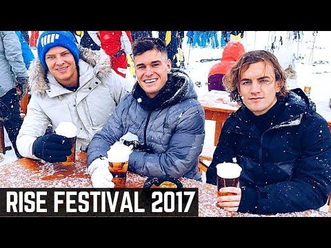 French Alps Ski Trip | Rise Festival 2017 | WE GOT F*CKED UP