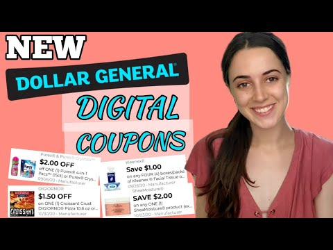 CLIP THESE DIGITAL COUPONS NOW! (Dollar General Couponing)