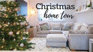 CHRISTMAS HOME TOUR   CHRISTMAS DECOR UK 2018