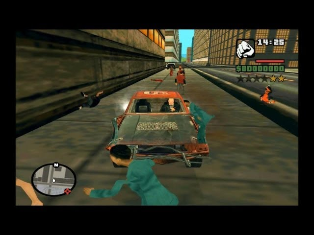 GTA SA DEMONSTRAÇÂO DO GRANDCARMA CARMAGEDDON MAP FULL HD 1080p Travel Video