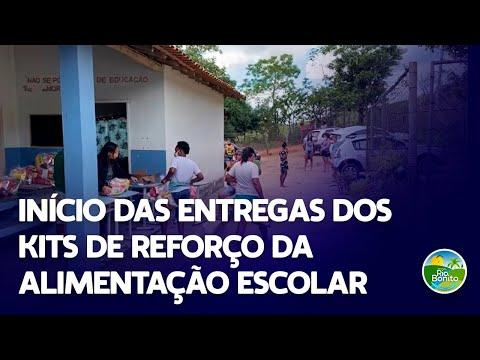 INÍCIO DAS ENTREGAS DOS KITS DE REFORÇO DA ALIMENTAÇÃO ESCOLAR