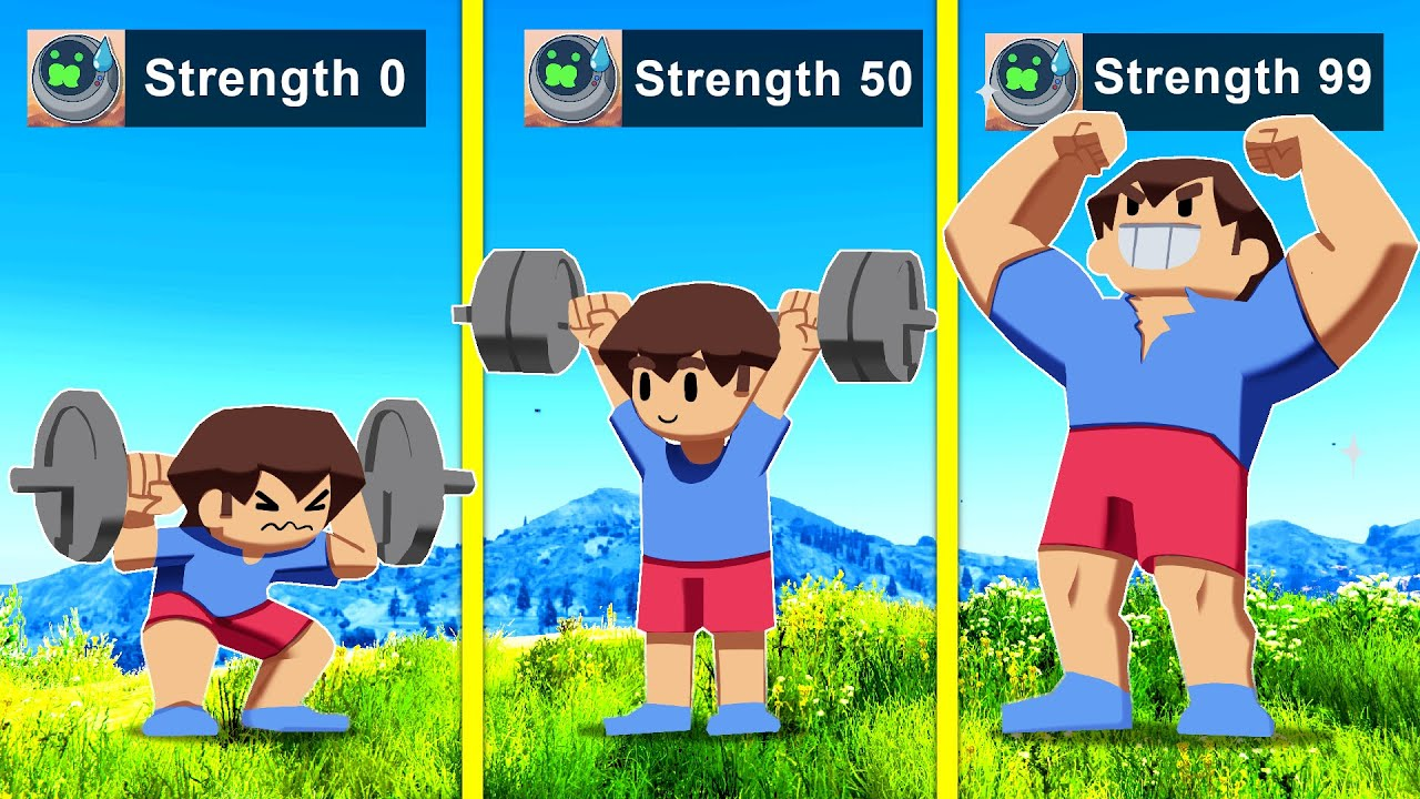 Download Upgrading Into The STRONGEST KID In GTA 5!